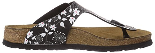 Papillo Gizeh, Tongs femme Multicolore - Mehrfarbig (SIXTIES FLOWERS BLACK)