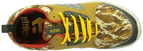 Etnies  SCOUT MT, Chaussures de skateboard homme Tan/Brown/White