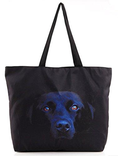 Belsen, Borsa a spalla donna multicolore Devil Taglia unica Black Dog