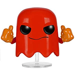 Funko 022021 Pop Games: Pac-Man Blinky 83 Vinyl Figure