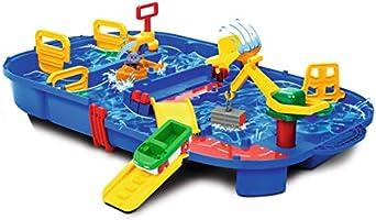 "Aquaplay 8700001516 - Waterbaanset ""Sleutelbox"", 25-delig"