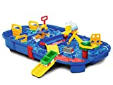 "Aquaplay 8700001516 - Wasserbahn Set ""Schleusenbox"", 25-teilig"