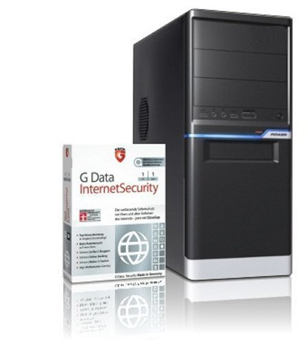 Entry Gaming / Multimedia Aufrüst-COMPUTER mit 3 Jahren Garantie! | Dual-Core! AMD A6-5400K 2 x 3800 MHz | 8192MB DDR3 | AMD Radeon HD 7540D 4096 MB DVI/VGA mit DirectX11 Technology | USB3 | FM2+ Mainboard | 6 USB-Anschlüsse | Windows10 ready | GDATA Internet Security | #5280