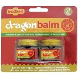 Bálsamo de Dragón para masajes pack de 2 frascos