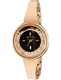 Giordano Analog Black Dial Women's Watch - C2052-11