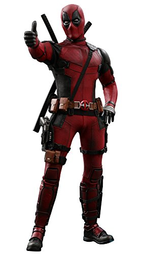 Hot Toys Deadpool 2 Marvel 1/6th Scale Movie Masterpiece Collectible Dead Pool Figure (Dead Pool Spielzeug)