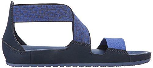 Crocs CrocsAnna - Sandali Donna Blu (Navy/Bijou Blue)