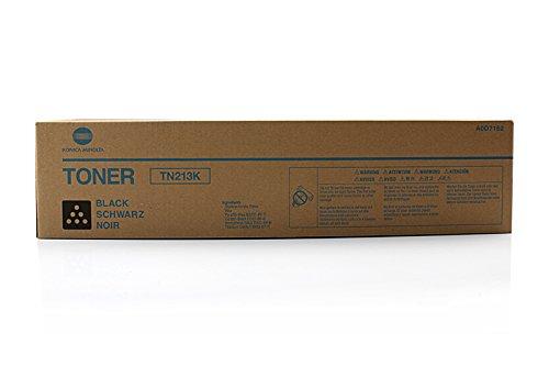Konica Minolta A0D7152 Bizhub C203 Toner, TN213K, 24.500 Seiten, schwarz