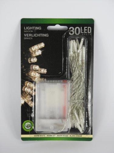 ROLLER Lichterkette - LED - warmweiß - batteriebetrieben