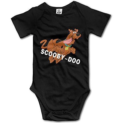 Girl Short Sleeve Scooby-DOO Fun Bobysuit Jumpsuit 24Months ()