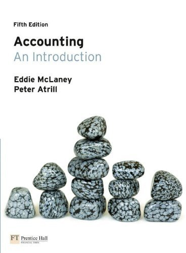 Accounting: An Introductiion by Eddie McLaney (2010-07-14)