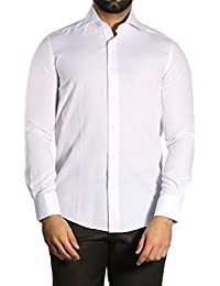 MUGA - Chemise business - À Rayures - Manches Longues - Homme