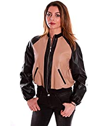5f642cd549 Amazon.it: Giubbotto BOMBER donna - Donna: Abbigliamento