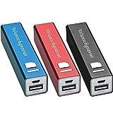 Power Bank 2200 mAh inkl. GRATIS Gravur | Werbung | Metall rot blau schwarz (rot)