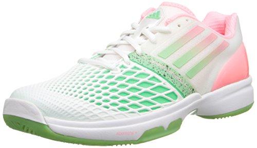 Adidas Adizero Cc Tempaia Iii Bianco / Luce istantanea rossa / luce flash verde Sneaker 5 B - Media White/Light Flash Red/Light Flash Green