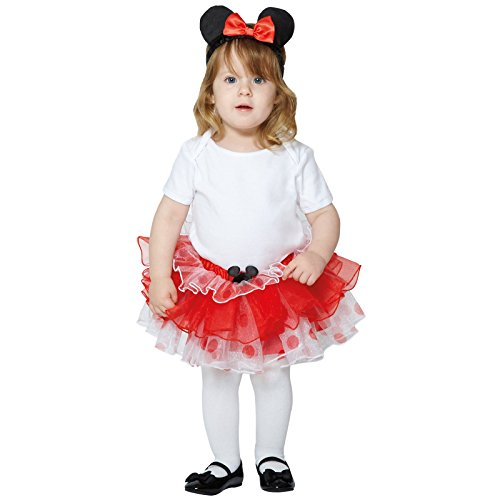 2 Micky Maus und Freunde Kinderkostümset Minnie, 80-92 cm (Halloween-kostüme Mickey Minnie Mouse)