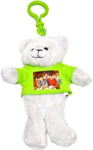 1 D - One Direction 52485-1 - Llavero - Llavero One Direction Clip-On Peluche con Foto Grupo 15 cm