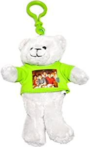 1 D - One Direction 52485-1 - Llavero - Llavero One Direction Clip-On Peluche con Foto Grupo 15 cm