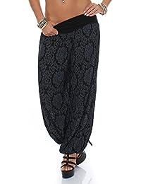 Pantalón estilo harén para mujer,talla única, 7198