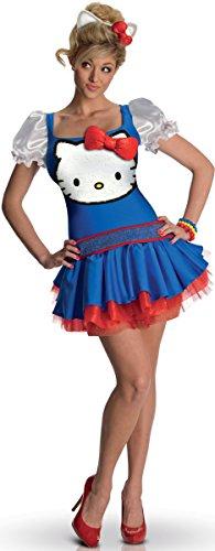 Hello Kitty Katzen-Kostüm für Erwachsene (Hello Kostüm Kitty Katze)
