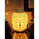 VANSHIKA Decorative Lemongrass Home Liquid Air Freshener/Electric Ceramic Diffuser Aroma Oil /buddha Haid Diffuser With (10 Ml Oil )