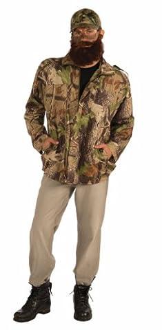 Dynastie De Duck Duck Costume - Duck Hunter Costume Camouflage Jacket Adult One