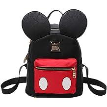 Pteng Mochila Mouse Bolso Mochila Mujer Bolsos Escolar Bolsa de Nylon Elegante Backpack studentesca la Escuela