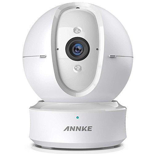 ANNKE Nova Orion 1080P IP Camera WiFi 1080P Videocamera di Sorveglianza Telecamera IP 1080P, Allarme Push con Snapshot, Ruotabile 360°, Audio Bidirezionale, Motion Detection, Visione Notturna, SD Carta (Dome Camera)