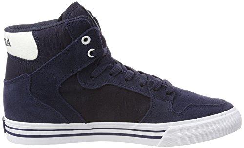 Supra Vaider, Sneaker Uomo Blu (marine-blanche)