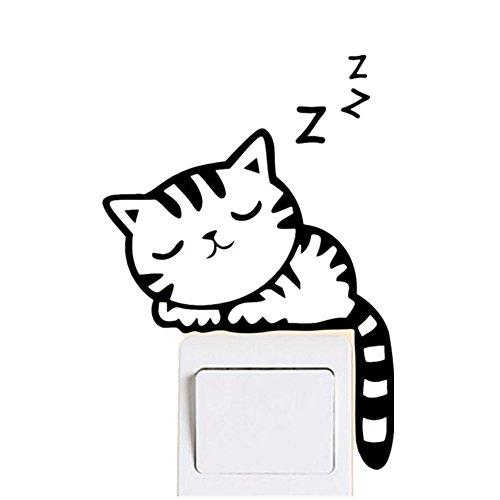 tefamore-pegatina-de-pared-decoracion-del-interruptor-de-la-luz-del-gato-decoracion-mural-de-arte-cu