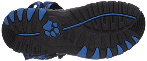 Jack Wolfskin - Kids Seven Seas, Sandali sportivi Unisex – Bambini Blu (Blau (classic blue 1127))