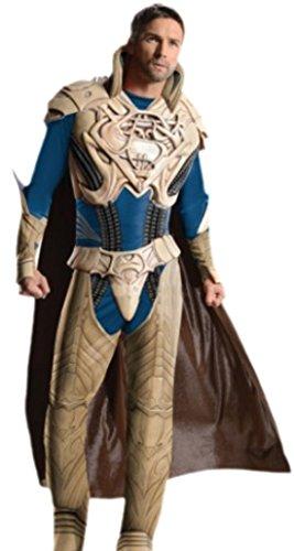 erdbeerloft - Herren Jor-El Kostüm, Superman, Karneval, Fasching, M-XL, Beige