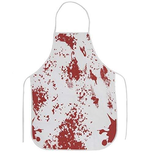 Kostüm Metzger Blutige - ArgoBear Lustiges Entwurfs-blutiges Schutzblech-Halloween-Schutzblech-Horror-Metzger-Kochs-Küchen-Koch-Schutzblech für Erwachsene Kostüm-Partei