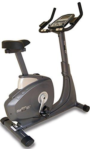 Maxxus Ergometer Bike 7.0. Tiefer Einstieg, elektr. gesteuertes Magnetbremssystem, Trainingsprogramme, Pulsmessung, HRC-Receiver