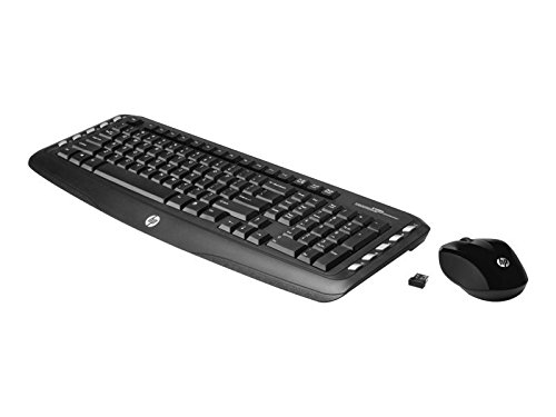 HP Wireless Classic Desktop - Tastatur-und-Maus-Set - drahtlos, - Wireless Hp Desktop