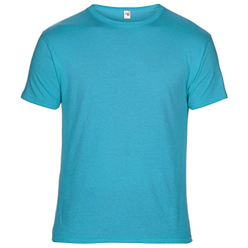 Anvil Unisex T-Shirt, Kurzarm, besonders leicht Karibikblau