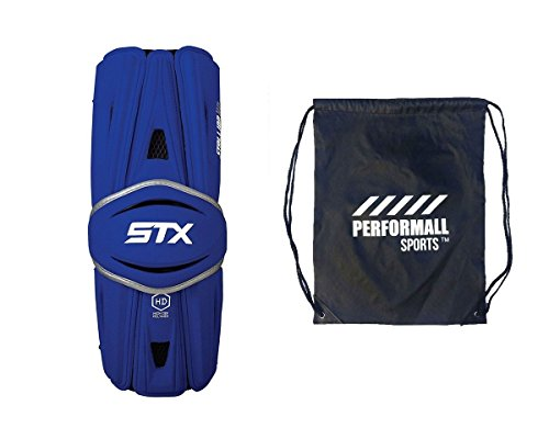 STX Bundle: Hengst HD Lacrosse Arm Wachen mit 1 performall Sports Kordelzug Tasche, Royal-Blue Hd Bundle