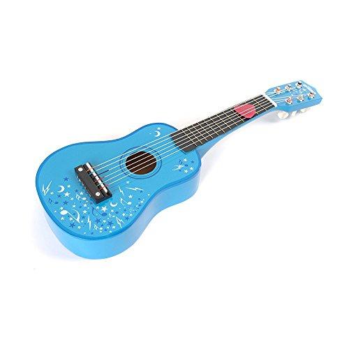 Tidlo T-0056 chitarra di legno, blu