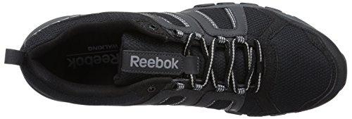 Reebok - DMX Ride Comfort RS 3.0, Scarpa unisex Nero(Schwarz (Black/Gravel/Flat Grey/Foggy Grey))