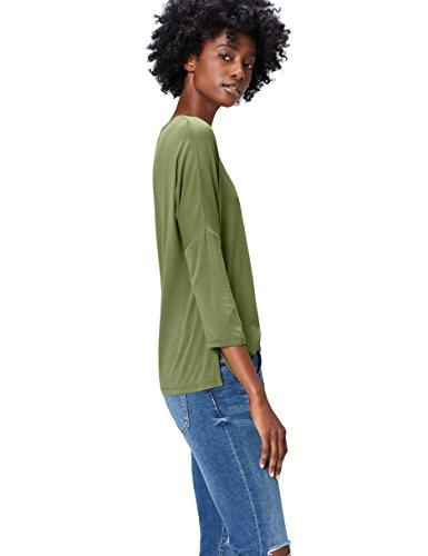 FIND ER1940 camisetas, Verde (Olive), 36 (Talla del Fabricante: X-Small)
