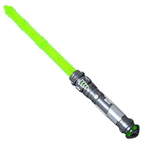 60 cm Laserschwert Lichtschwert feste Klinge Sound wechselbare Lichteffekte grün - Grün Sound