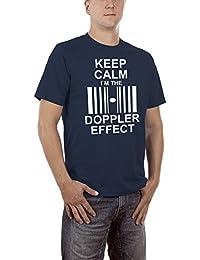 Touchlines Keep Calm I`m the Doppler Effect, T-Shirt Homme