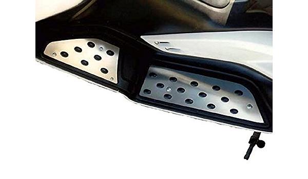 Kit poggiapiedi poggia piedi ergal pedane CNC RACING T-max Tmax T Max 530 500
