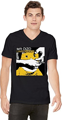 Preisvergleich Produktbild Mr Oizo Lambs Anger Mens V-neck T-shirt Medium