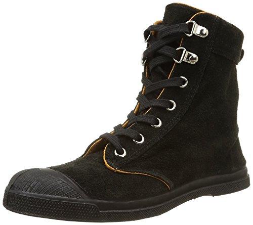 Bensimon - Tennis Ranger, Sneakers da donna, nero (camel 126), 36