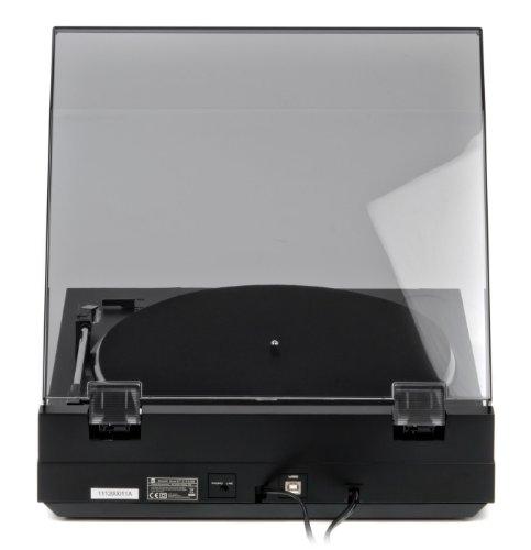 Dual DT 210 USB Schallplattenspieler USB-Anschluss, schwarz - 9