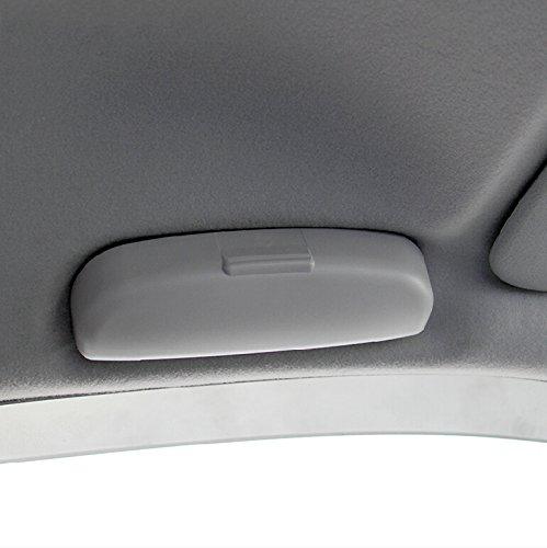 Auto Brillenetui für Kuga Focus 3 Focus 4 MK3 MK4 Ecosport Fiesta Glasses Case Aufbewahrungsbox Zubehör (grey)