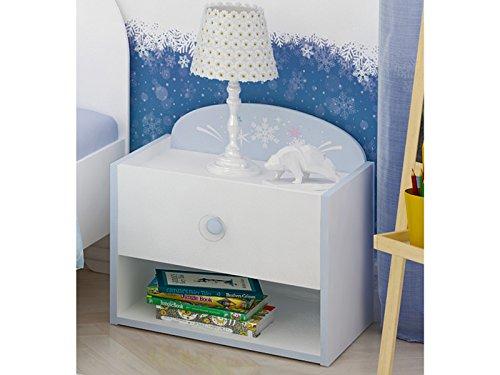 """Nachttisch Nachtkommode Nachtkonsole Nachttischschrank Kinderzimmer """"Arendal I"""""""
