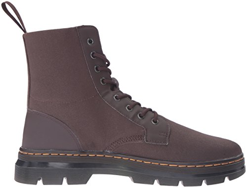 Dr.martens Womens Combs 8 Eyelet Waxy Canvas Botas Marrón