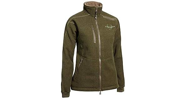Chevalier Bushveld Fleece Cardigan greenmelange Damen (Größe 38)   Amazon.de  Sport a410a8ff46